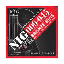 Encordoamento Nig Violao N-490 009 Bronze 85/15