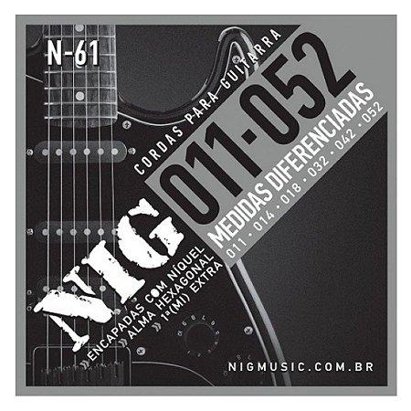 Encordoamento Nig Guitarra 011 N-61