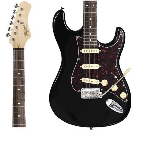 Guitarra Tagima T-635 BK LF/TT Preta Escala Clara Escudo Shell