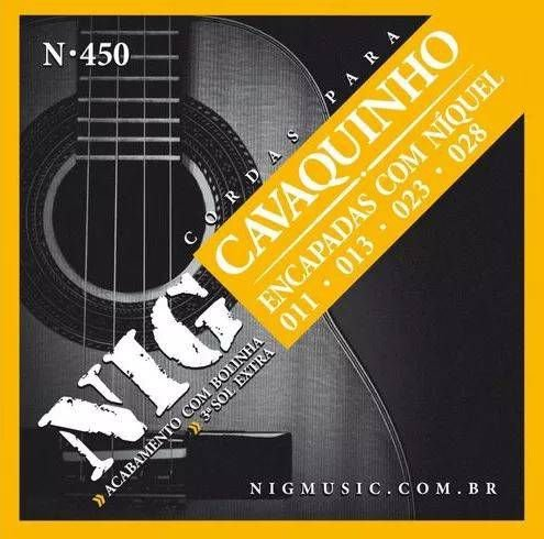 Encordoamento Nig Cavaco N-450