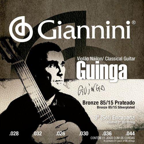 Encordoamento Giannini Guinga SSCGG Tensao Alta
