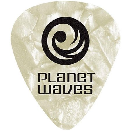 Palheta Planet Waves Perolada White 1CWP6-10 Heavy