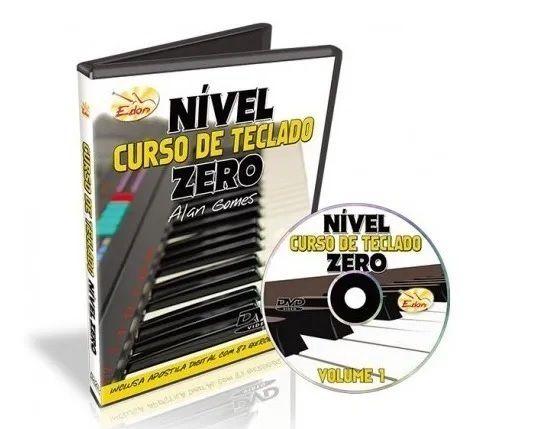 Video Aula Edon Curso de Teclado Nivel Zero Vol 1