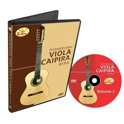 Video Aula Edon Curso de Viola Caipira Vol 2