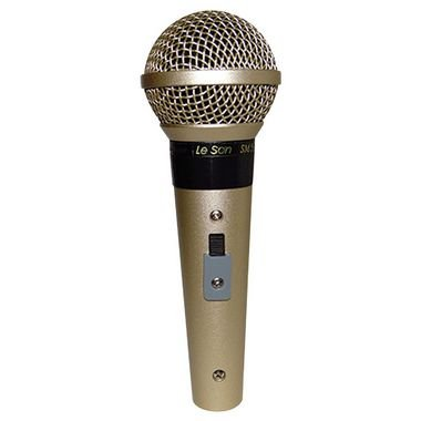 Microfone Le Son SM-58 P4 A/B