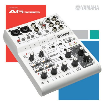 Mesa Yamaha AG06 USB 6 Canais