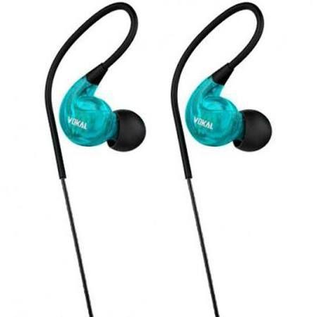 Fone Vokal E40 In Ear Azul Intrauricular
