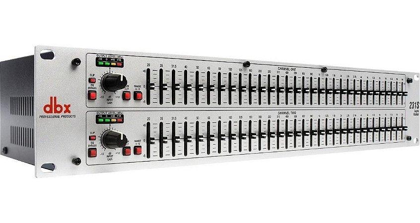 Equalizador DBX 231S 31 Bandas