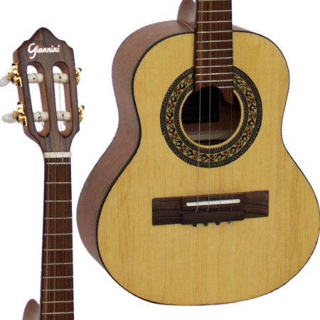 Cavaco Giannini CS1 CEDR NS Cedro Acustico Natural Fosco