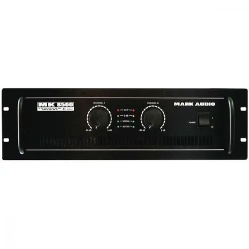 Amplificador Mark Audio MK8500 1500W 4R
