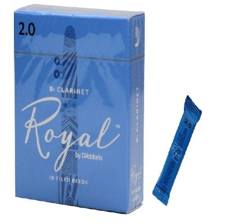 Palheta Rico Royal Clarineta 2.0 RCB1020 UNID