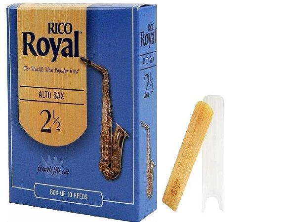 Palheta Rico Royal Sax Alto 2.5 RJB1025 UNID