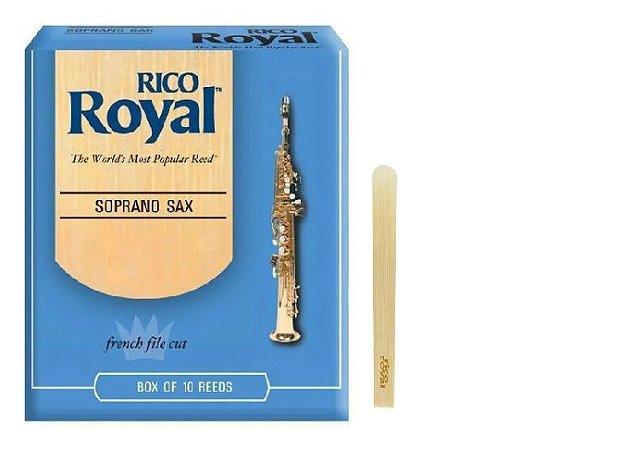 Palheta Rico Royal Sax Soprano 2.0 RIB1020 UNID