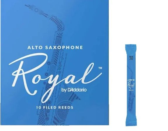 Palheta Rico Royal Sax Alto 3.0 RJB1230