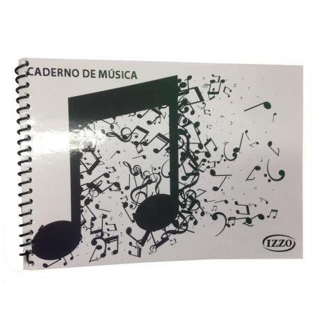 Caderno de Musica Izzo PQ Espiral