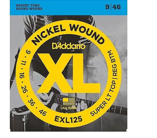 Encord Daddario Guitarra EXL 125 009 Hibrido