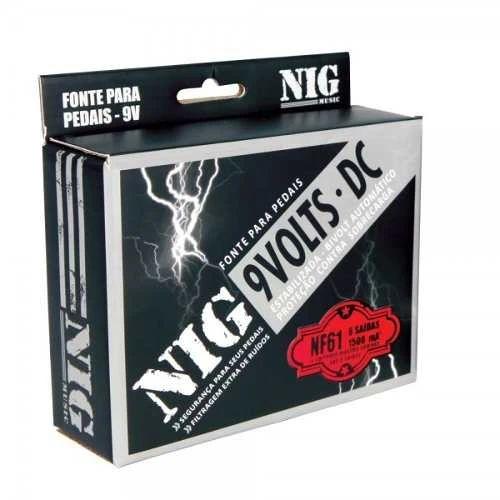 Fonte NIG NF61 9V Estabilizada 6 Saidas Bivolt