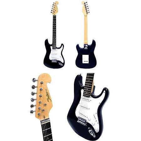 Guitarra Shelter California STD25 SSH BL Azul Esc