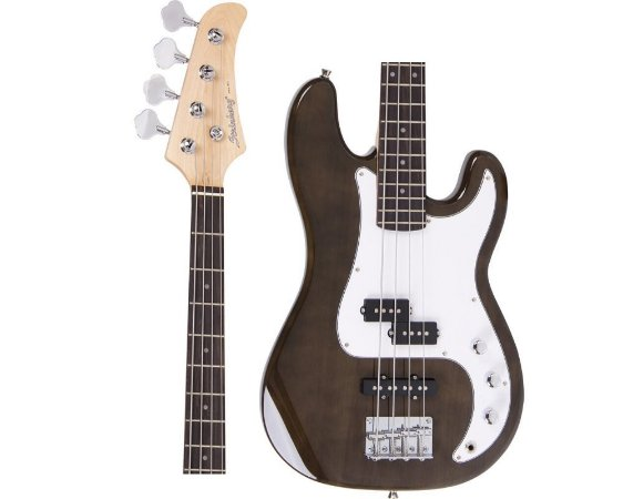 Baixo Strinberg PBS-50 TBK P Bass Preto  Transparente 4 Cordas