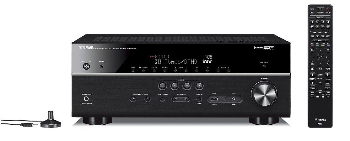 Receiver Yamaha RX-V685BL 7.2 c/ Musicast
