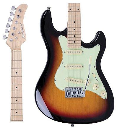 Guitarra Strinberg STS-100 SB Strato Sunburst