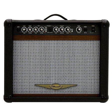 Caixa Oneal OCG-200-CR p/ Guitarra 60W AF10 Preta