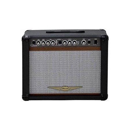 Caixa Oneal OCG-300R-CR p/ Guitarra Foot 60W AF10 Preta