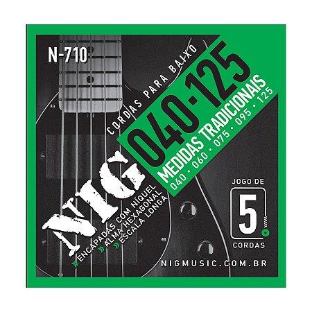 Encord Nig Baixo N-710 5 Cordas 040/125