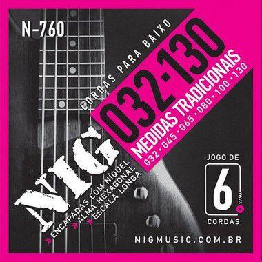 Encord Nig Baixo N-760 6 Cordas 032/130