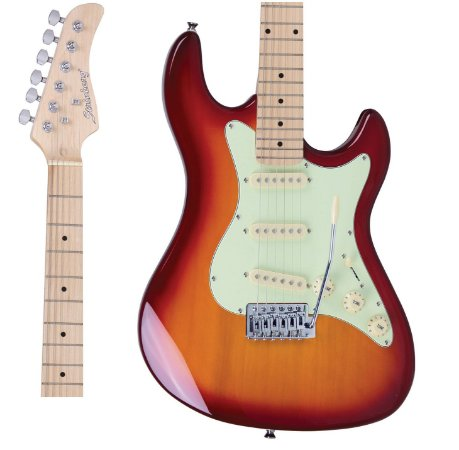 Guitarra Strinberg STS-100 CS Strato Cherry Sunburst
