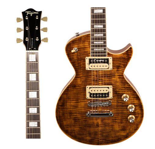Guitarra Tagima Mirach FL TA Flamed Maple Ambar