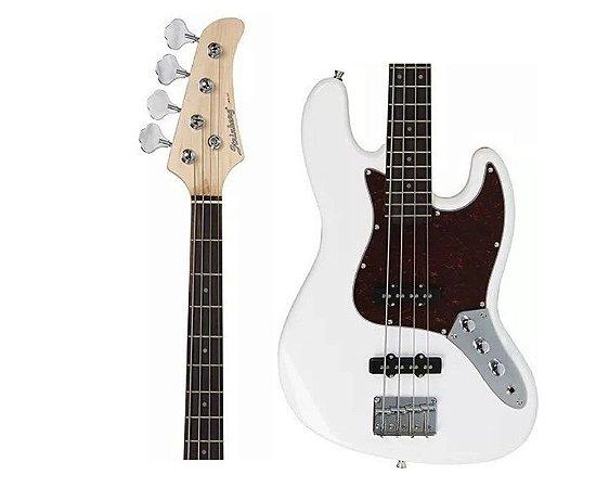 Baixo Strinberg JBS-40 WH Jazz Bass Branco 4 Cord