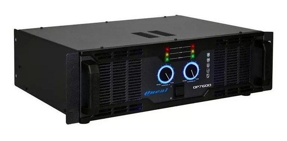 Amplificador Oneal OP-7600 1300W/4R Bivolt