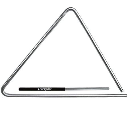 Triangulo Liverpool TR-20 Aco Cromado