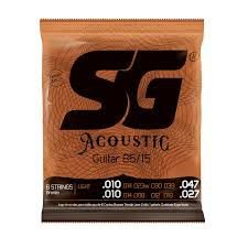 Encord SG Violao Aco 010 SG6688 12 Cor Br 85/15