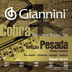 Encordoamento Giannini Cobra P/ Viola GESVNP T Pesada