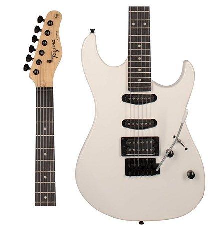 Guitarra Tagima Woodstock TG-510 WH DF Branca Escala Escura