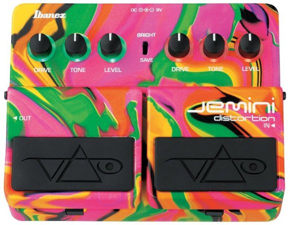 Pedal Ibanez Jemini Steve Vai Sign Distortion Loja ShopMusic