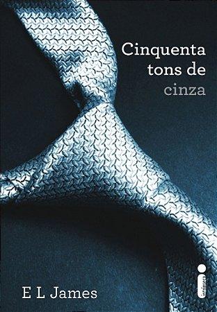 Livro Cinquenta Tons de Cinza - E. L. James