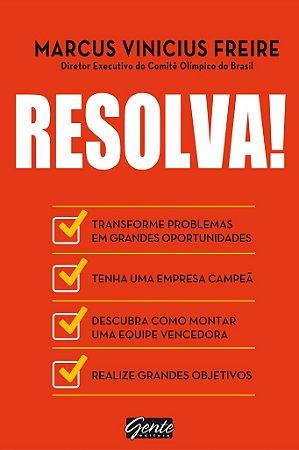 Livro Resolva! - Marcus Vinicius Freire