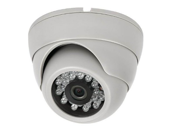 DOME DE METAL AHD 1.3MP LENTE 2,8MM ANTI VANDALISMO