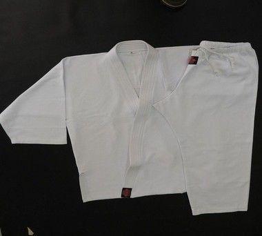Dogui - 100% Poliester Gabardine - Conjunto Karate - Branco