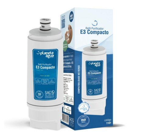 Filtro Refil E3 Compacto para Purificador de Água IBBL – Avanti e Mio (Similar)