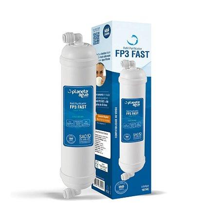 Filtro Refil FP3 FAST para Purificadores de Água Polar e Pontos de Uso (Similar)