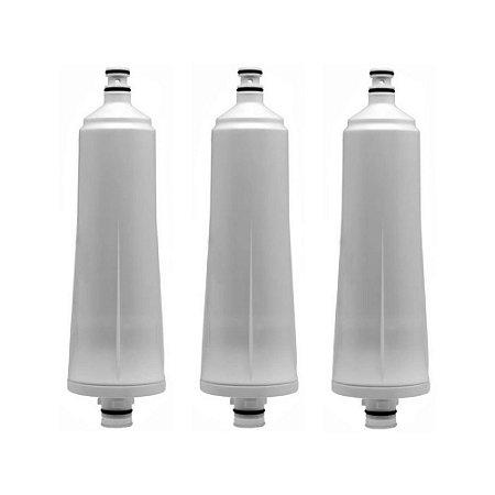 Kit com 3 Filtros Refil Aqualar Stilla para Purificador de Água 3M (Original)