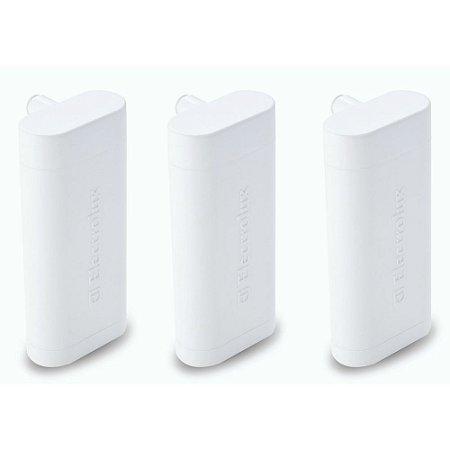 Kit com 3 Filtros Refil Water Dispenser para Geladeira Refrigerador Electrolux (Original)