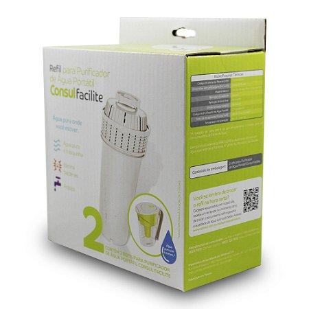 Filtro Refil CIX04AX para Purificador de Água Portátil Consul – Pack com 02 (Original)