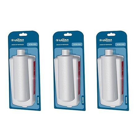 Refil / Filtro Para Purificador de Água LATINA P355 - KIT Com 3 (Original)