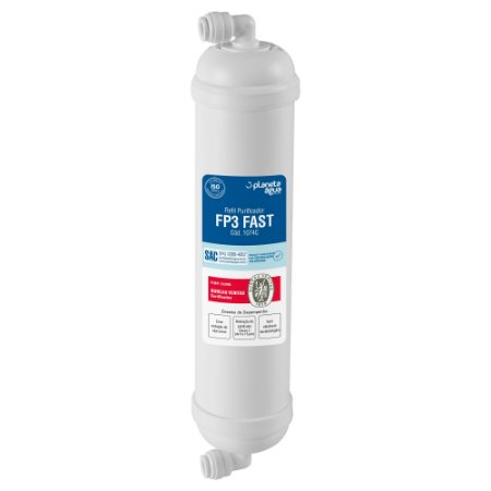 Filtro Refil FP3  FAST para Purificador de Água Polar WP1000, WP2000 A, B e C  (Certificado)