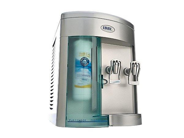 Purificador de Água IBBL FR600 (Prata) – Refrigerado com Compressor (110V)